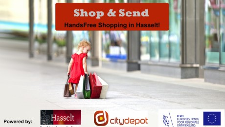 Hands-free shopping in Hasselt